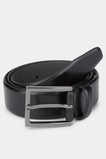 Hugo Boss Black Gunmetal Belt