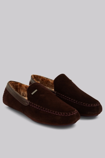 Ted Baker Moriss Brown Silppers