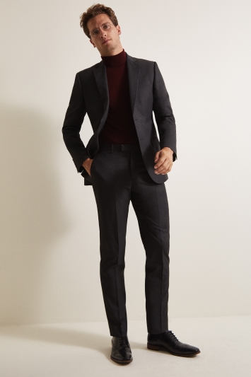 Moss 1851 Tailored Fit Charcoal Jacket
