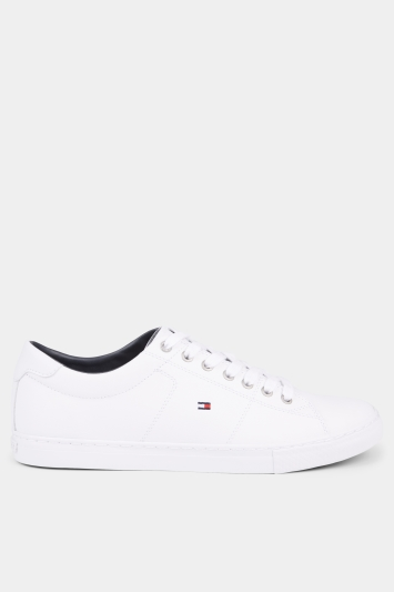 Tommy Hilfiger White Essential Leather Sneaker