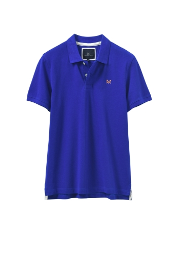 Crew Clothing Cobalt Blue Melbury Polo