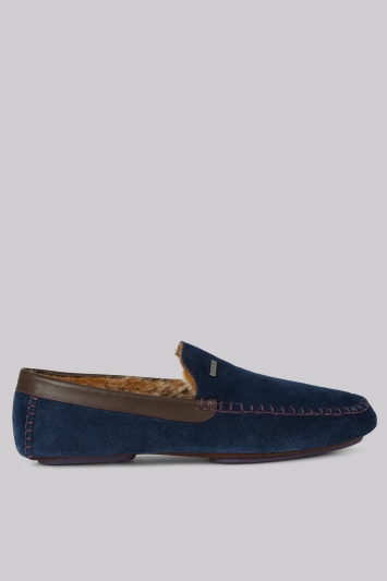 Ted Baker Moriss Blue Silppers