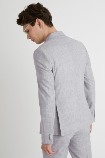 French Connection Slim Fit Pebble Marl Double Breasted Jacket