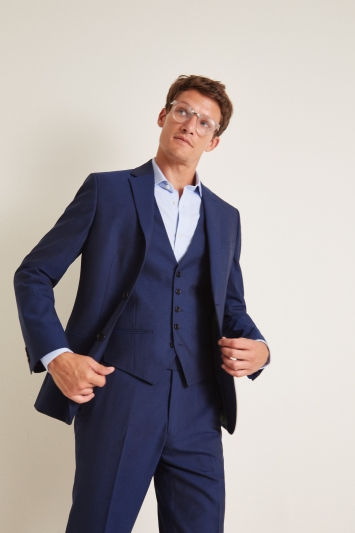 Ted Baker Regular Fit Blue Jacket