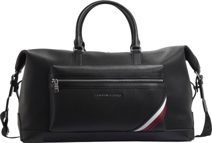 Tommy Hilfiger Black Downtown Duffle Bag