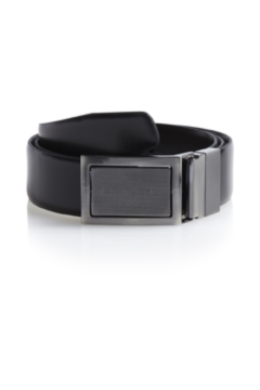 Moss 1851 Black/Brown 4 in 1 Bonded Leather Reversible Belt