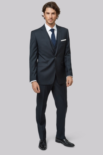 Lanificio F.lli Cerruti Dal 1881 Cloth Tailored Fit Navy Jacket