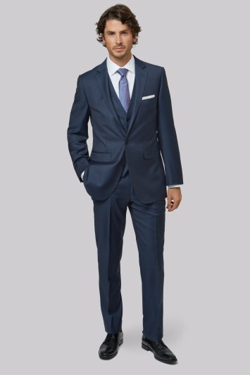 Lanificio F.lli Cerruti Dal 1881 Cloth Tailored Fit Indigo Jacket