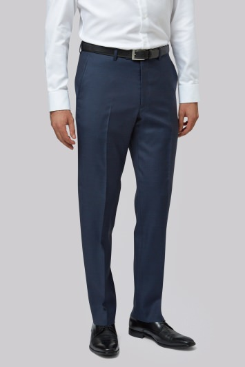 Lanificio F.lli Cerruti Dal 1881 Cloth Tailored Fit Indigo Trouser
