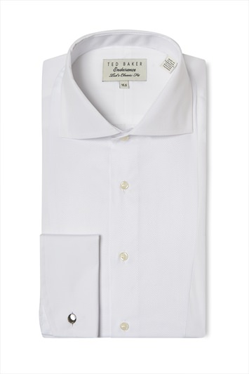 Ted Baker Classic Fit Bib Front Dress Shirt