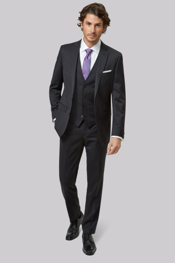 Moss 1851 Tailored Fit Black Jacket
