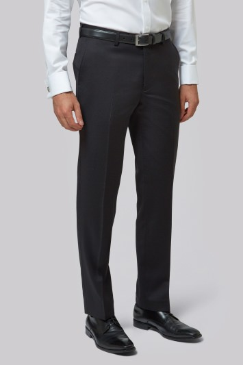 Moss 1851 Tailored Fit Black Trousers