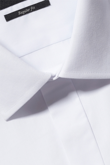 Moss Esq. Regular Collar Double Cuff Dress Shirt