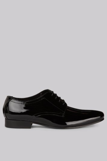 Moss 1851 Black Patent Dress Shoes