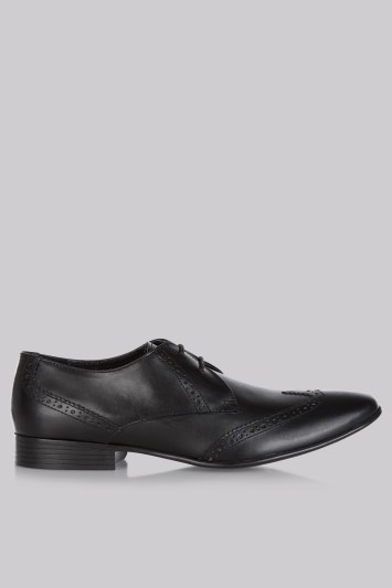 Moss London Black Brogues