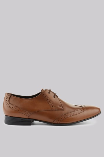 Moss London Tan Brogues