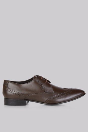 Moss London Brown Brogues