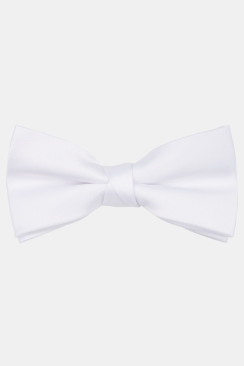 Moss 1851 White Bow Tie
