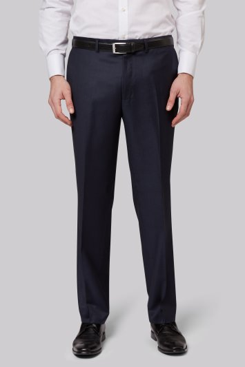 Ermenegildo Zegna Cloth Regular Fit Blue Trousers