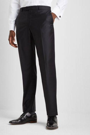 Ermenegildo Zegna Cloth Regular Fit Black Trousers