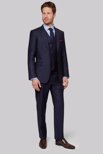 Ermenegildo Zegna Cloth Regular Fit Naples Blue Jacket