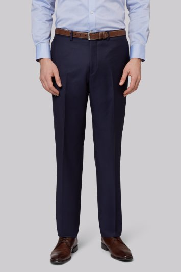 Ermenegildo Zegna Cloth Regulat Fit Naples Blue Trousers