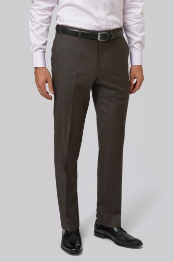Moss 1851 Tailored Brown Trousers