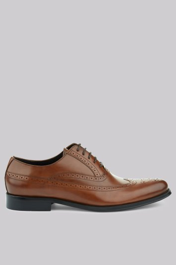 John White Finch Tan Brogues
