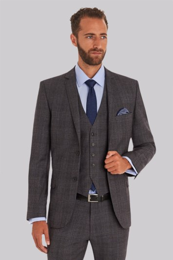2920195f8a06c Ted Baker Tailored Fit Grey Check Jacket