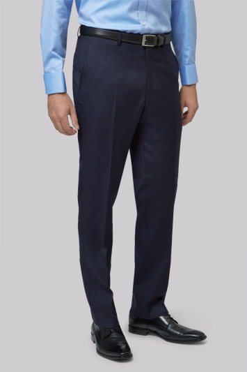 Lanificio F.lli Cerruti Dal 1881 Cloth Tailored Fit New Navy Suit Trousers