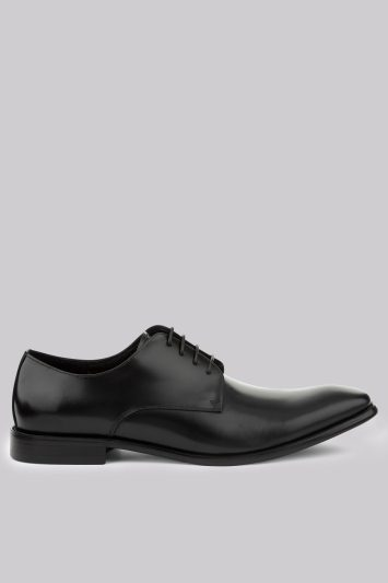 John White Moore Black Derby Shoes