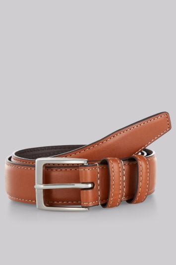 Moss 1851 Tan Casual Chino Belt