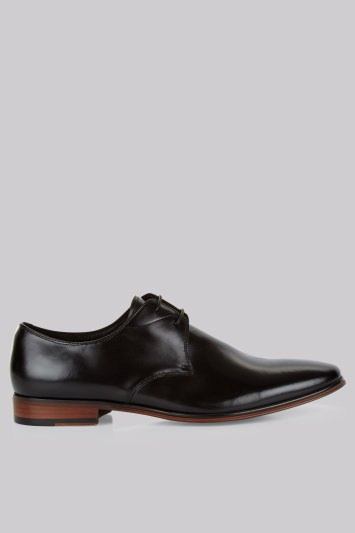 John White Murray Black Derby Shoes