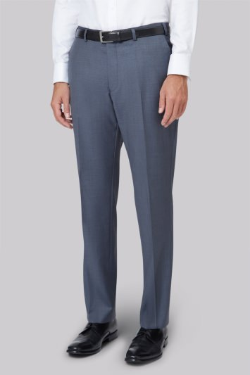 Ted Baker Tailored Fit Steel Grey Trousers