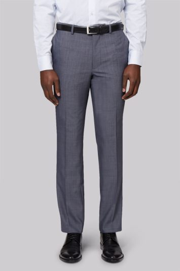 French Connection Slim Fit Light Grey Trousers