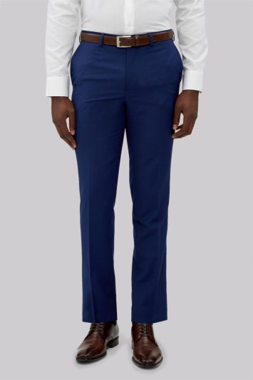 French Connection Slim Fit Bright Blue Trousers