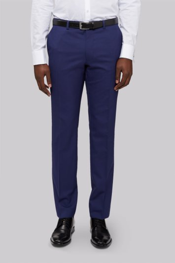DKNY Slim Fit Bright Blue Trousers