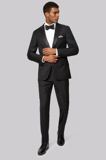 b125f7395dbf77 Ted Baker Tailored Fit Black Tuxedo Jacket