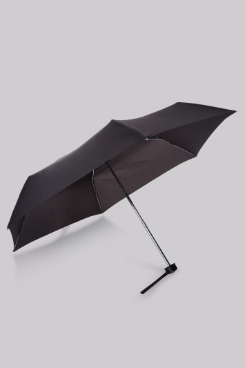 Fulton Black Miniflat Umbrella