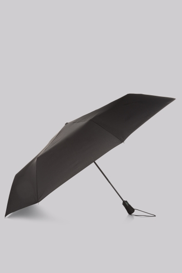 Fulton Black Automatic Open and Close Jumbo Umbrella