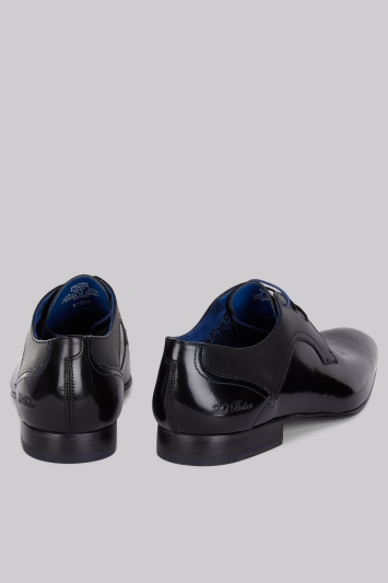16ef414f1 Ted Baker City Pelton Black High Shine Shoes