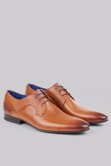 25c1140079c2 Ted Baker City Pelton Tan Derby Shoes