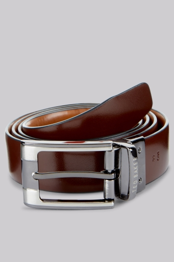 Ted Baker Tan Reversible Leather Belt