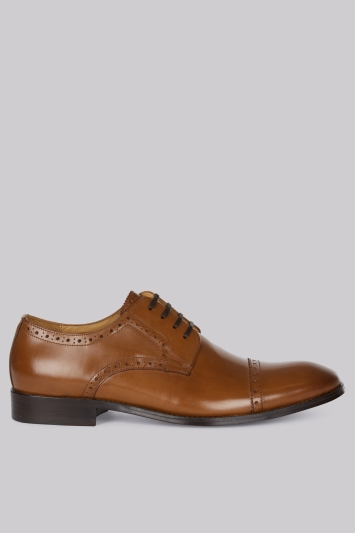 Hardy Amies Tan Brogues