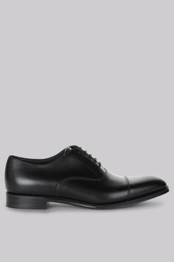Cheaney Shoes Black Classic Oxford Shoes