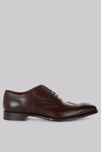Cheaney Shoes Brown Wing Tip Brogues