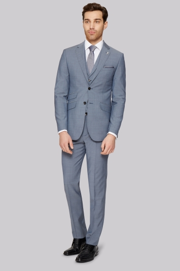 Ted Baker Tailored Fit Light Blue Jacket