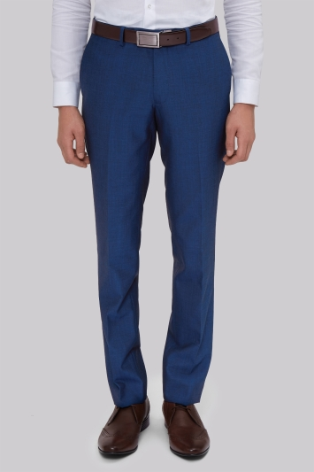 Moss London Skinny Fit Peacock Trousers