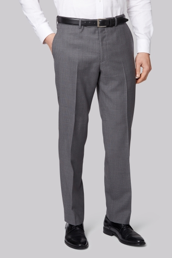 Ermenegildo Zegna Cloth Regular Fit Light Grey Trousers