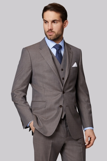 Ermenegildo Zegna Cloth Regular Fit Neutral Semi Plain Jacket